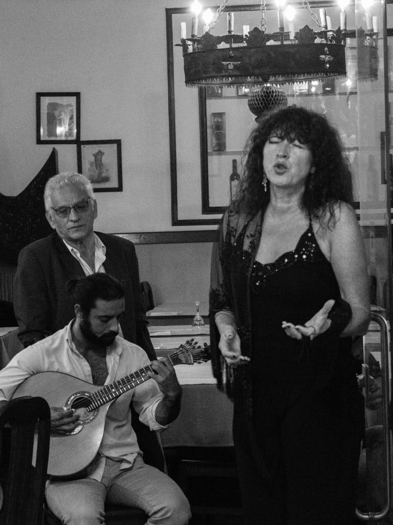 Chanteuse de fado