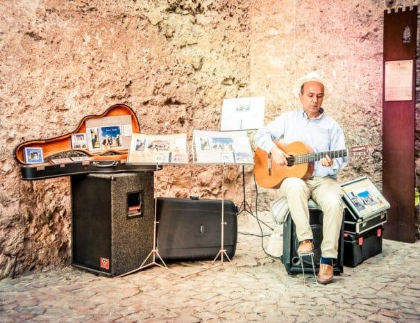 Guitariste portugais