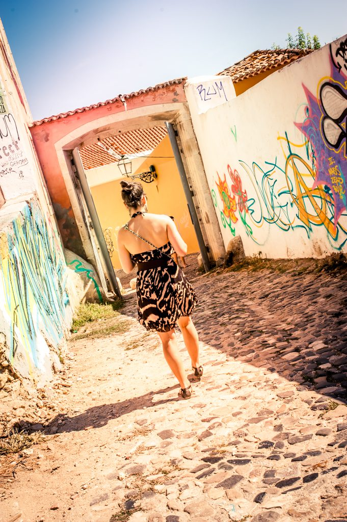 Touriste portugaise