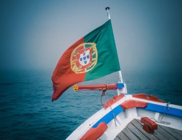 Pavillon de navire portugais