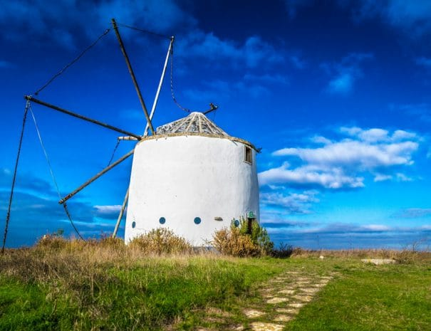 Moulin dans le sud du Portugal