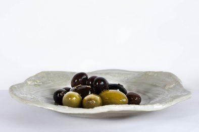 Assiette olives portugaise au restaurant